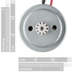 SparkFun Hobby Motor - Gear 6mm/10 Tooth/1-3VDC...
